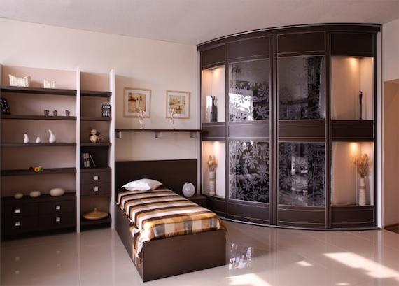 Мебель с радиусными фасадами