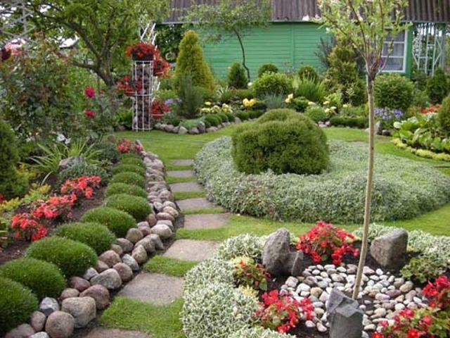 Выбираем тип планировки сада