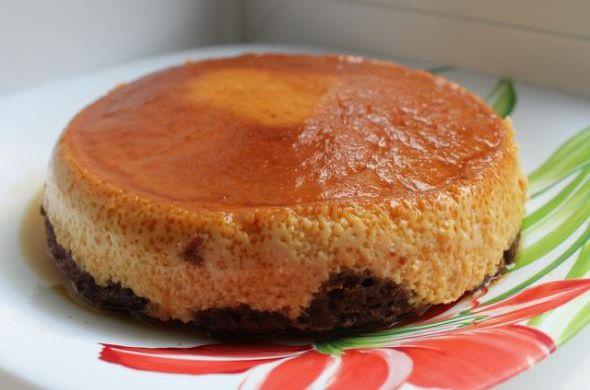 Карамельный торт-суфле