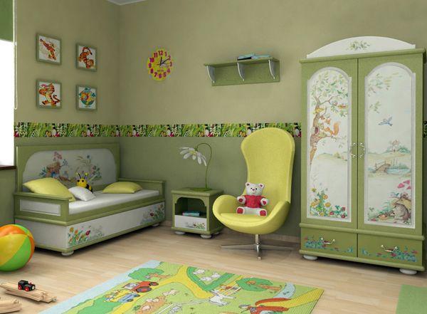 В детской комнате по фен-шуй должны быть рисунки и игрушки