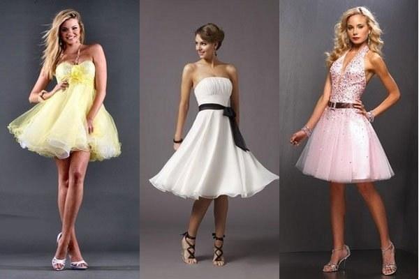 Какое платье сшить на выпускной