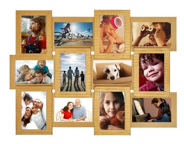 Interesting photo collage