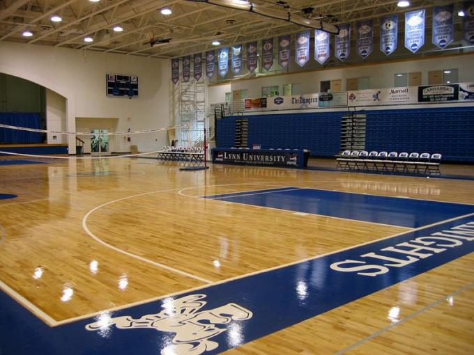 Лучшим местом проведения турнира является большой спортивный зал
