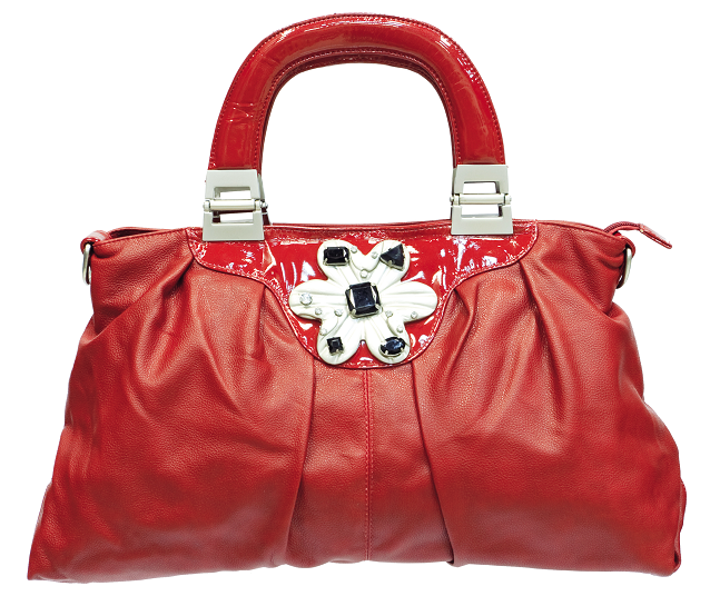 С чем носить сумку красного цвета