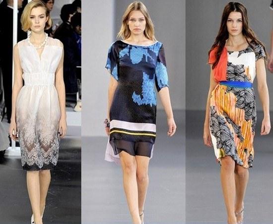 Летние платья из шелка: правила выбора
