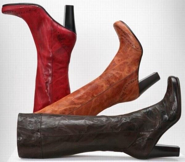 Как сушить кожаные зимние сапоги