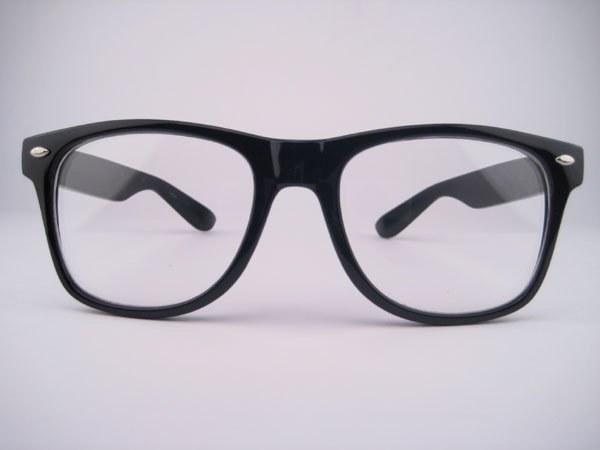 Очки со стеклянными линзами