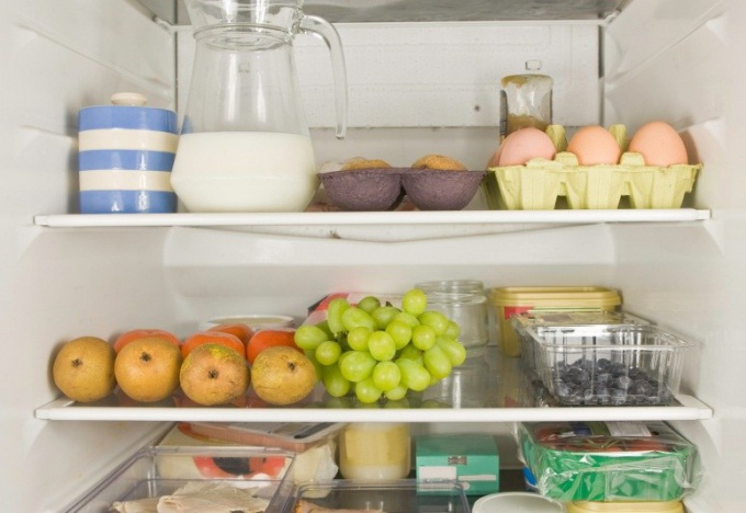 How to place foods in the refrigerator