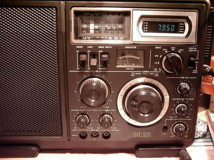 Для работы всеволнового радиоприемника необходима внешняя антенна