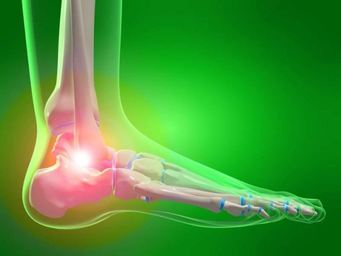 How to treat ankle joint