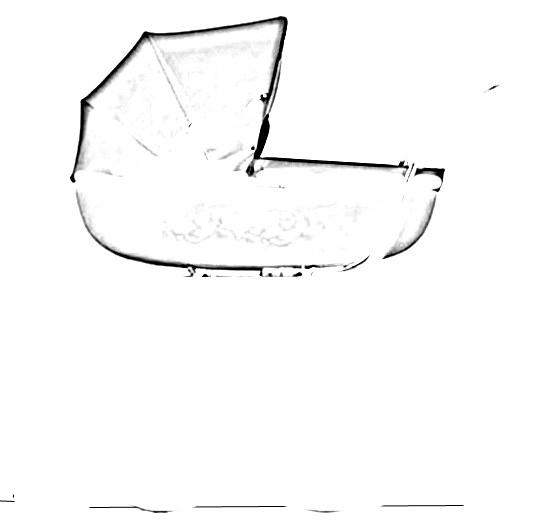 Капюшон может напоминать край зонтика