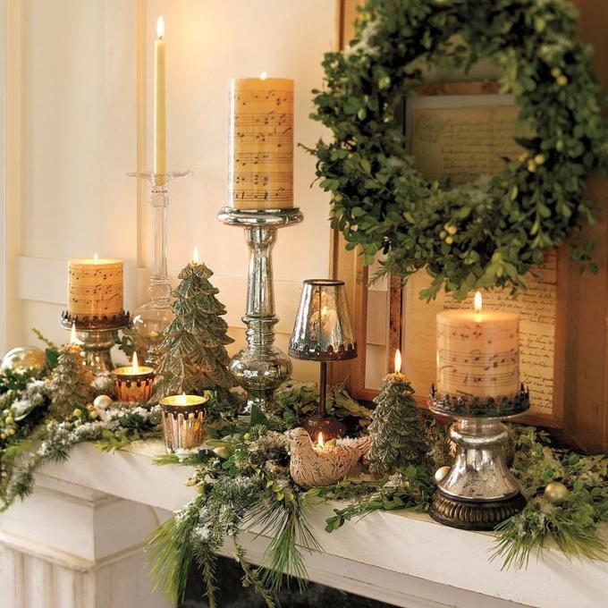 Как делать рождественские украшения