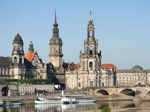 Дрезден. Музейный комплекс Цвингер