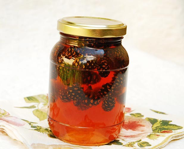 How to make pine jam