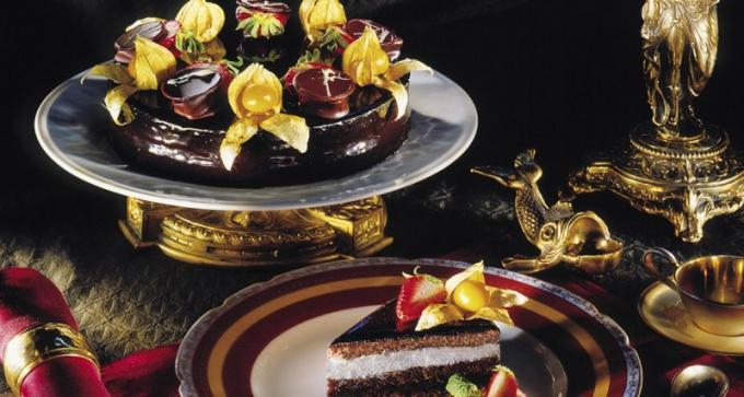 Поистине королевский торт ко дню рождения мужа