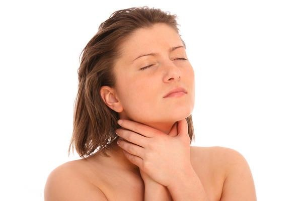What to do when a muscle spasm of the throat