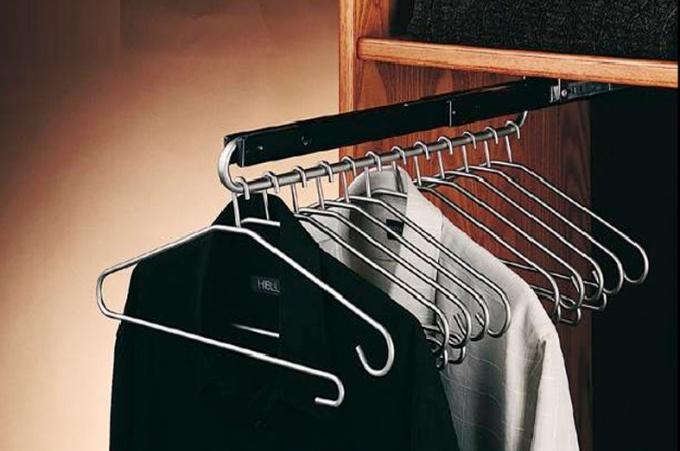 Как сделать штангу для одежды