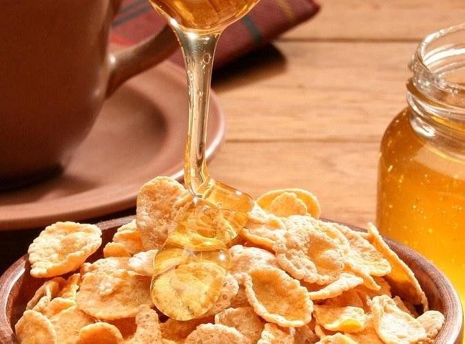 Чем пригодна воздушная пшеница с медом
