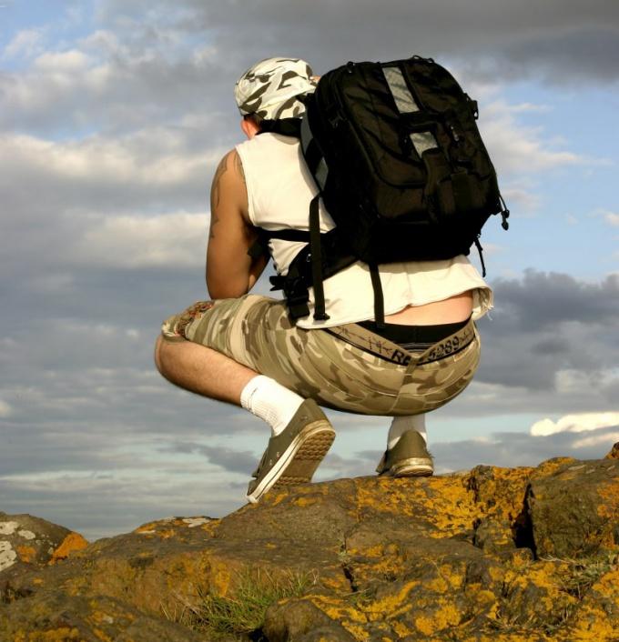 Спортивный рюкзак легко и компактен