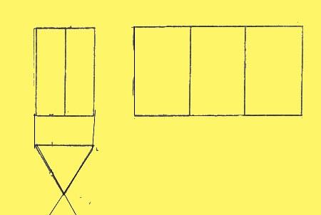 Боковая поверхность правильной призмы в развертке являет собой прямоугольник