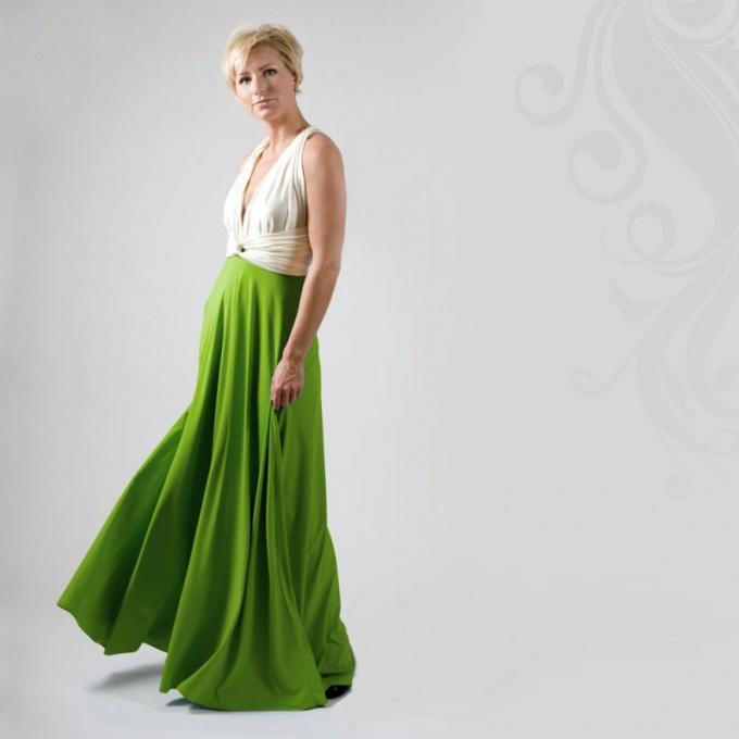 Платье для высокой девушки
