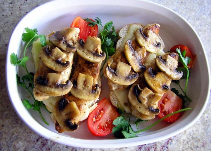 Жареные маринованные грибы - блюдо для настоящих гурманов