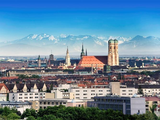 Город Мюнхен. Германия, федеральная земля Бавария