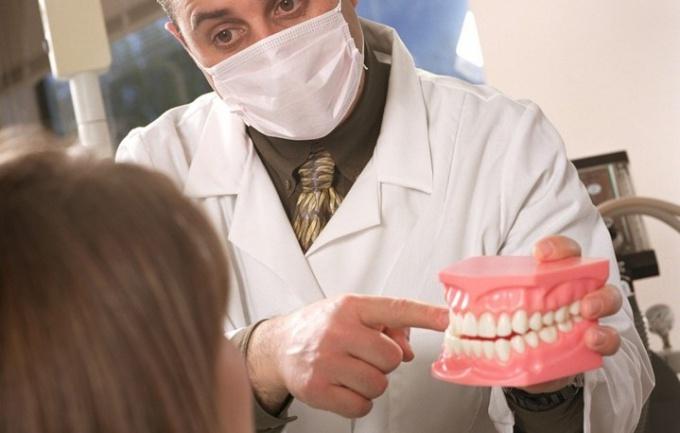 Консультация ортодонта.