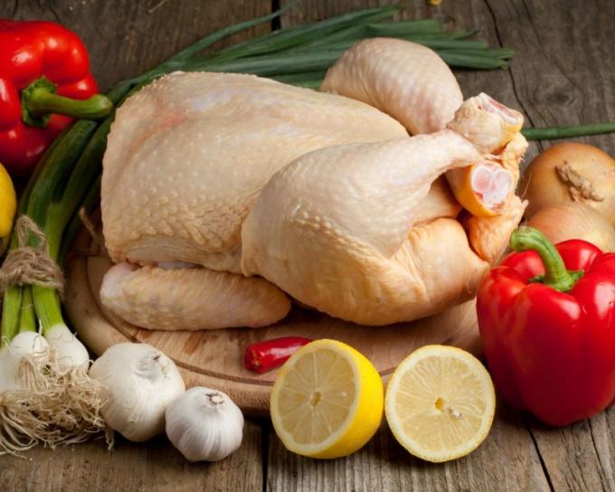 Как хранить свежую курицу