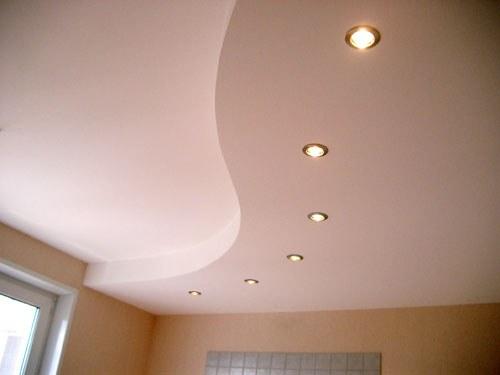 Подвесной потолок можно сделать своими руками