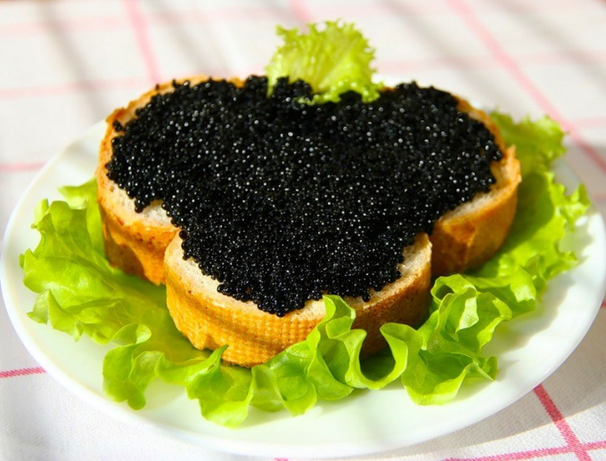 What fish caviar