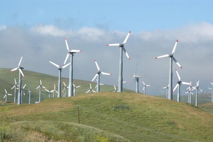 Ветрогенераторы - экологический споособ добычи энергии