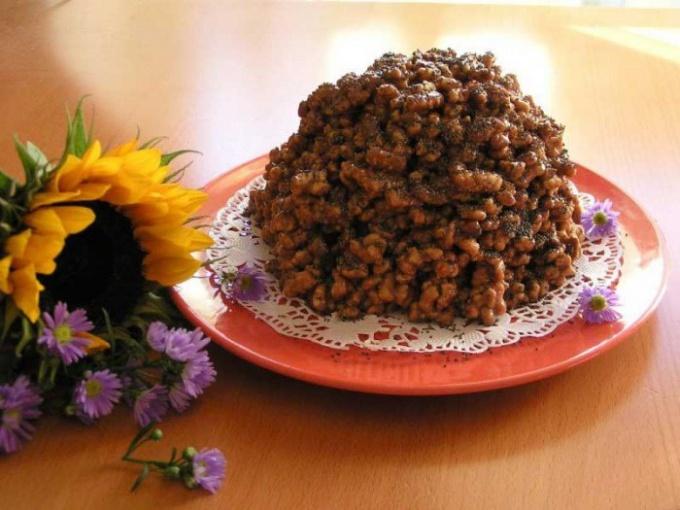 Как приготовить торт из кукурузных палочек