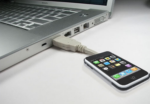 How to connect your iPhone to the computer