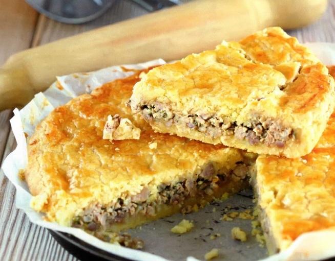Как приготовить канадский пирог туртьер