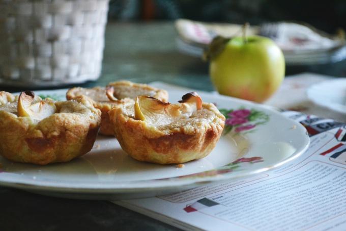Как приготовить корзиночки с яблочным муссом