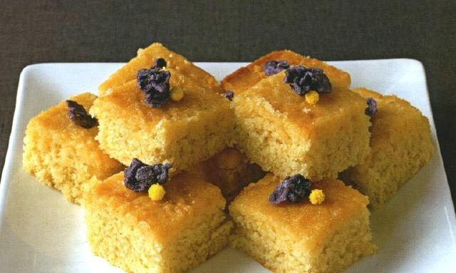 Лимонный пирог с имбирем