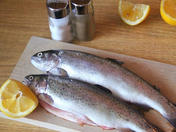 Рыба для кормящей матери