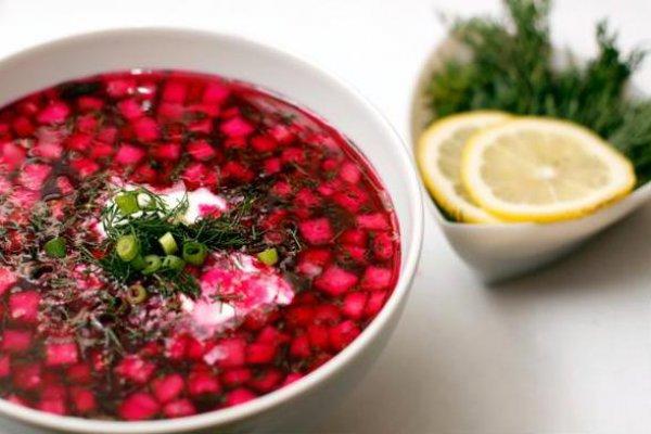 Как приготовить холодный суп (свекольник)