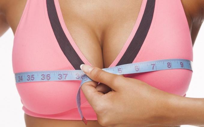 Способы увеличения груди дома