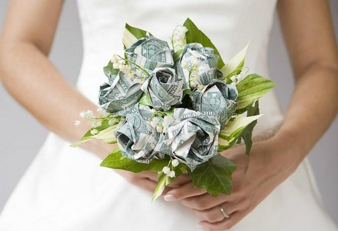 На свадьбу своими руками из денег как
