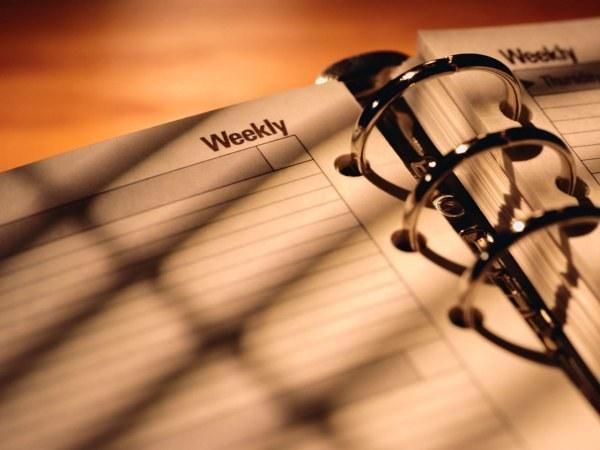 Как заполнять ежедневник