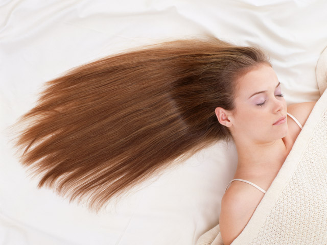 How to make hair smooth
