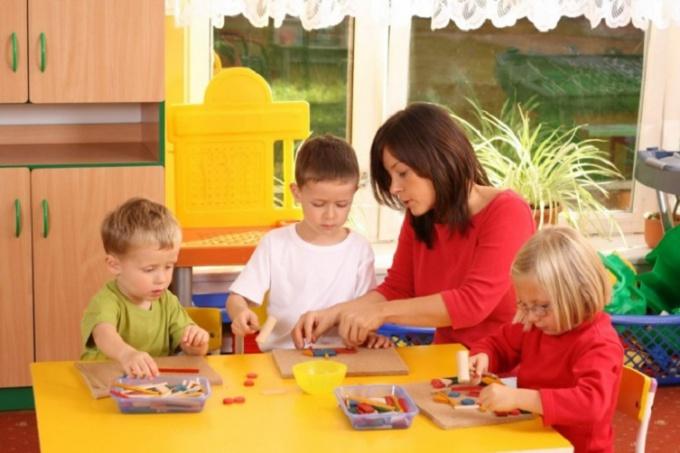 Игры для сенсорного развития детей 3-5 лет  по методике Монтессори
