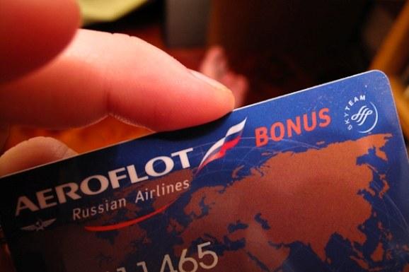 Карта «Аэрофлот Бонус»