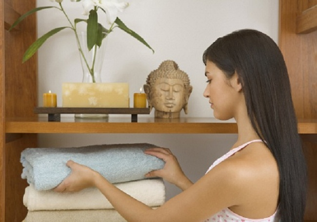 Как сохранить мягкость махровых полотенец
