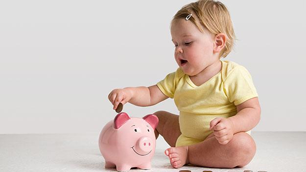 Размер пособия на ребенка до 3 лет