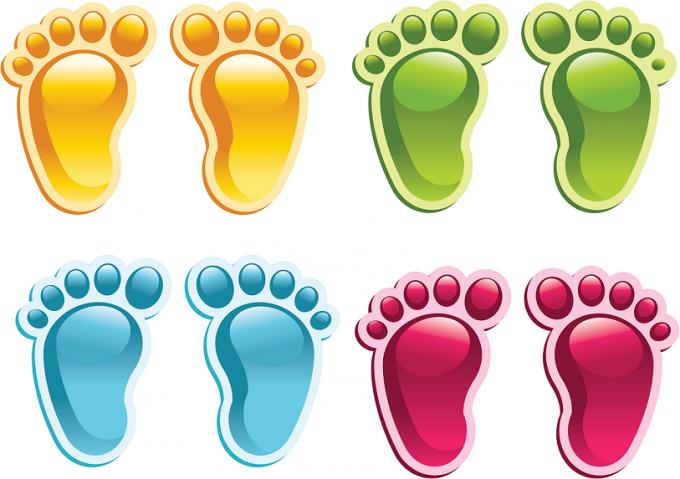 Как определить размер ноги