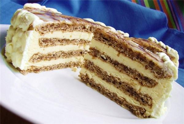 Как делать творожный торт из крекеров или печенья