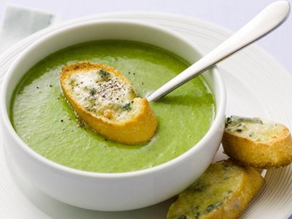 Как сварить суп из брокколи со сливками